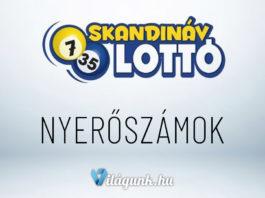 Skandináv lottó nyerőszámai